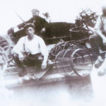 Jan Korneel met kreeftenfuiken